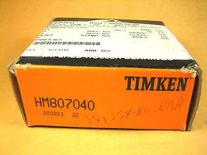 high temperature TIMKEN  HM807040  Tapered Roller Bearing