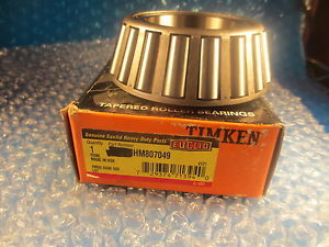 high temperature Timken HM807049 Tapered Roller Bearing