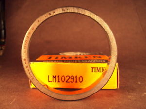 high temperature Timken LM102910 Tapered Roller Bearing Cup
