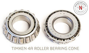 """high temperature TIMKEN 4A TAPERED ROLLER BEARING CONE, .750"""" ID, .469"""" WIDTH"""