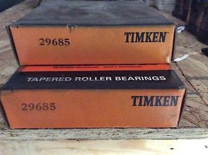 high temperature 2-Timken-Bearing,29685 ,Free shipping lower 48, 30 day warranty!