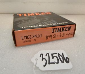 high temperature Timken LM613410 Tapered Roller Cup (Inv.32506)