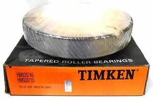 "high temperature TIMKEN TAPERED ROLLER BEARING HM926749-99401, HM926710 CUP, 9"" OD, 5 1/32"" ID"