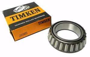 """high temperature  IN BOX TIMKEN 28985 TAPERED BEARING CONE 2.3750"""" BORE X 1"""" WIDTH (11 AVAIL.)"""