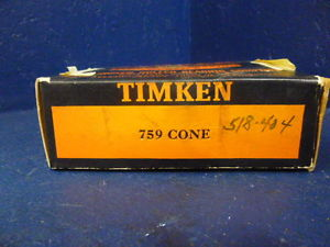 high temperature Timken 759 Tapered Roller Bearing Cone