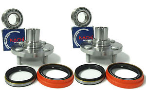 high temperature Nachi Japanese Wheel bearing w/ FRONT Hub SET 871-84115  WITH ABS Toyota Corolla