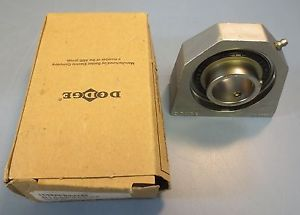 "high temperature Dodge Base Mounting 1 7/16"" Bearing Model TB-SCEZ-107-SHCR P/N"" 136917 New"