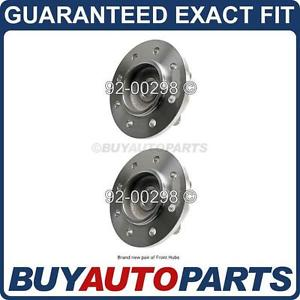 high temperature PAIR  FRONT LEFT & RIGHT WHEEL HUB BEARING ASSEMBLY FOR DODGE RAM 2500 4X4