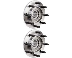 high temperature PAIR Dodge Ram Trucks 2500 3500 Brand New Front Wheel Hub Bearing Assembly
