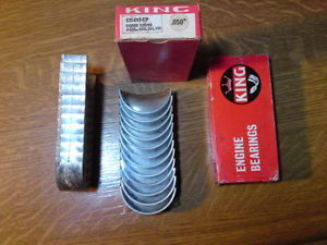 """high temperature Dodge G502 & M37 truck  """"KING"""" engine con rods bearings 0.50"""" Chance"""