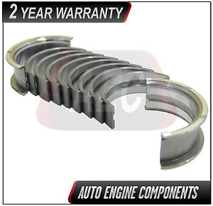 high temperature Main Bearing Set Fits Audi Volkswagen Golf 1.5 1.6 1.7 1.8 L VIN EN APH #6819M