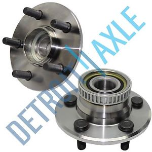 high temperature Pair: 2 New REAR 1995-97 Neon ABS Complete Wheel Hub and Bearing Assembly