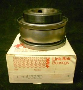 "high temperature LINK BELT FMC BEARING, 1 7/16"" SHAFT DIA, #U323D"