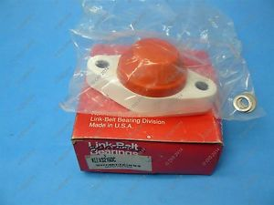 high temperature Link Belt KLFXS216DC Polypropylene Flange Block Bearing 1 Food Grade NIB
