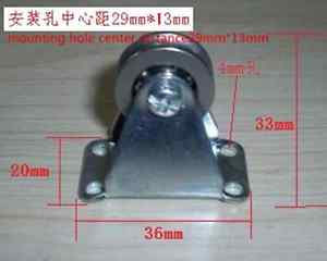 high temperature 1pc  Stainless steel pulley Pulley bracket