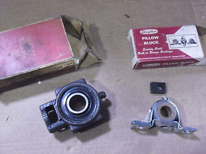 high temperature TWO !! Pillow Block & Roller Bearing By Dayton # 2X530 & FMC Link-Belt # T3U216H