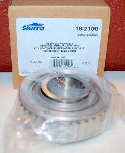 high temperature NIB SIERRA HEAVY DUTY LINK BELT 18-2100 GIMBAL BEARING ~100~