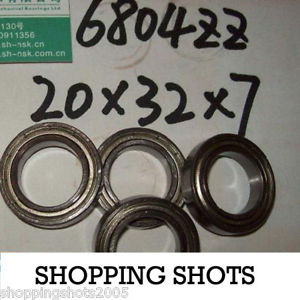 high temperature 1pc thin 6804-2Z ZZ bearings Ball Bearing 6804ZZ 20X32X7 20*32*7 mm 6804ZZ ABCE1