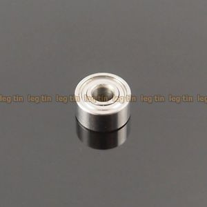 high temperature [5pcs] S693zz S693 3x8x4 mm Stainless Steel 440c Ball Bearing Bearings