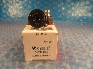 high temperature McGill MCF19S, MCF 19 S, Series Metric CAMROL® Cam Follower Bearing