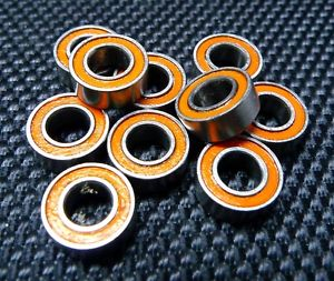 high temperature ABEC-7 [2 PCS] SMR85-2RS (5x8x2.5 mm) 440c Stainless Steel CERAMIC Ball Bearing