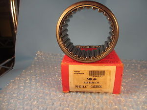 high temperature McGill MR44, MR 44, CAGEROL Bearing, Outer Ring & Roller Assembly;