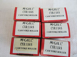 high temperature MCGILL CYR 1 ¼ S CAM YOKE ROLLER (6 PCS)