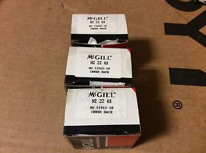 high temperature 3-McGILL bearings#MI 22 4S ,Free shipping lower 48, 30 day warranty!