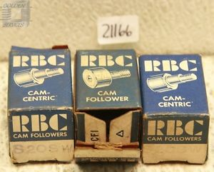 high temperature RBC S20SW Cam Follower Bearings (Lot of 3)