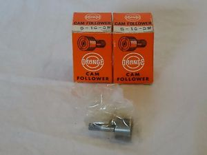 high temperature Lot of 2 Vintage S16SW ORANGE New Cam Follower