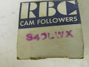 high temperature RBC s-40-LWX Cam-Centric Cam Follower Bearing NIB