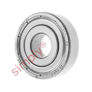 high temperature SKF 161002Z Metal Shielded Deep Groove Ball Bearing 10x28x8mm