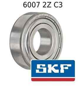 high temperature 6007 2Z C3 Genuine SKF Bearings 35x62x14 (mm) Sealed Metric Ball Bearing 6007-ZZ