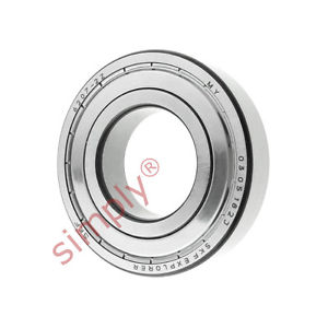 high temperature SKF 62072Z Metal Shielded Deep Groove Ball Bearing 35x72x17mm