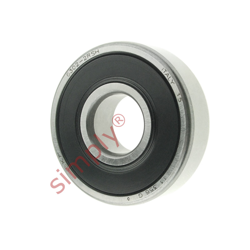 high temperature SKF 63022RSH Rubber Sealed Deep Groove Ball Bearing 15x42x13mm