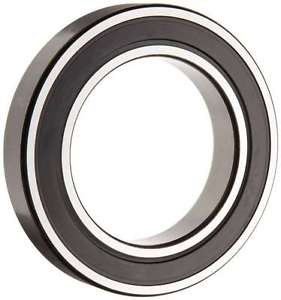 high temperature SKF 6016 2RSJEM Deep Groove Ball Bearing, Double Sealed, Steel Cage, C3 Clearanc