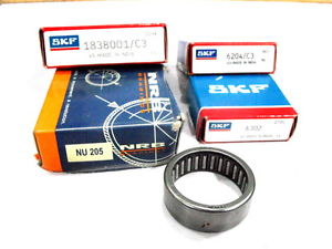 high temperature Deal@DR-Vespa Ball Bearing Set Vespa T5,Rally 200 SKF-NRB@AU