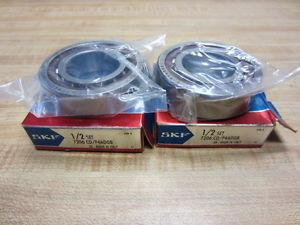 high temperature SKF 7206 CD/P4ADGB Ball Bearings Set Super Precision 7206CDP4ADGB