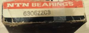 high temperature 6306ZZC3 NTN New Single Row Ball Bearing