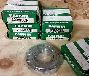 high temperature Timken Fafnir 209 WDDN 45mm Bore Double Shield Radial Ball Bearing 209WDDN