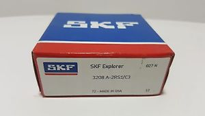 high temperature **** SKF 3208 A-2RS1/C3,Double Row Angular Contact Bearing