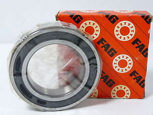 high temperature Fag 6011.2RSR Sealed Deep Groove 2RS C3 Ball Bearing !  !