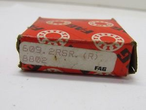 high temperature Fag 609.2RSR.(R) 8802 Ball Bearing NIB
