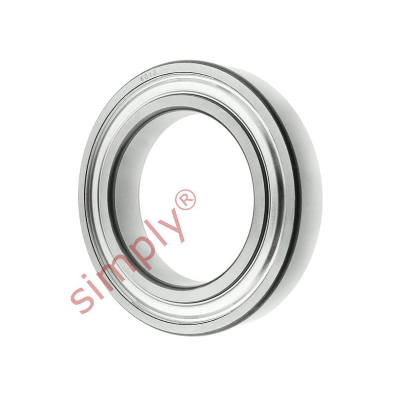 high temperature FAG 60122Z Metal Shielded Deep Groove Ball Bearing 60x95x18mm
