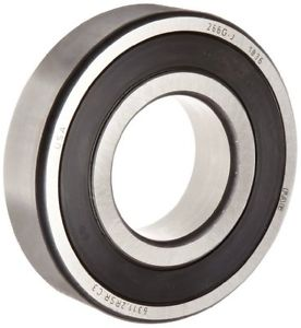 high temperature  FAG 1-Row 2-Sealed Steel Cage Deep Groove Ball Bearing (6301-2RSR-C3)