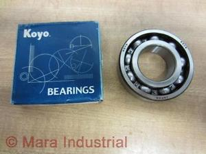 high temperature Koyo 6206CM Ball Bearing (Pack of 3)