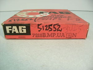 high temperature FAG 7218 B MP UA,  BEARING, GERMANY