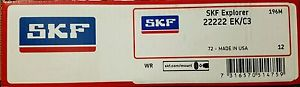 high temperature SKF 22222 EK/C3 Spherical Roller Bearing – Tapered Bore
