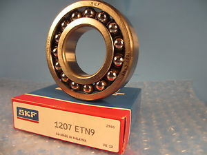 high temperature SKF 1207ETN9, 1207 ENT9, Double Row Self-Aligning Bearing