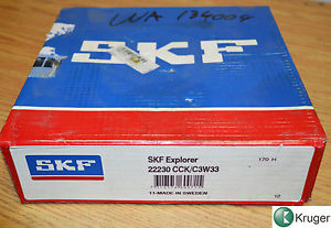 high temperature SKF Explorer spherical roller bearing 22230 CCK/C3W33 270 mm X 150 mm X 73 mm